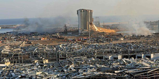 Beyrut Limanındaki Felakette Hayatını Kaybeden Kişilerin Sayısı 137'e Ulaştı.. 5000'den Fazla Yaralı Tescil Edildi..