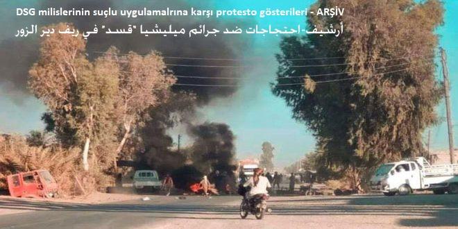 Haseke ve Deyrezzor Kırsllarıda DSG Milislerine Karşı Saldırılar Sürdürülüyor