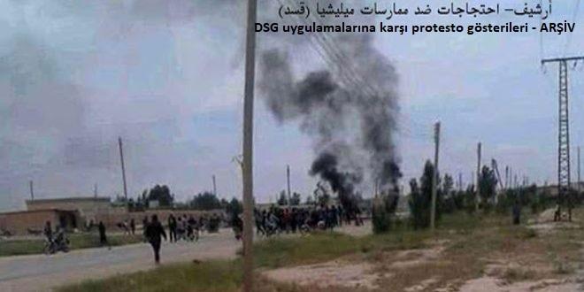 DSG Milisleri Rakka Kırsalında Zorbalıklarına Devam Ediyor