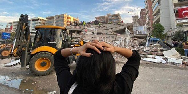 Türkiye'nin Batısını Vuran Depremde Ölü Sayısı 25'e Yaralılar Da 804'e Yükseldi