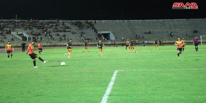 Teşrin Futbol Turnuvasında Teşrin Takımı El Kerame İle Finalde Karşı Karşıya Geliyor