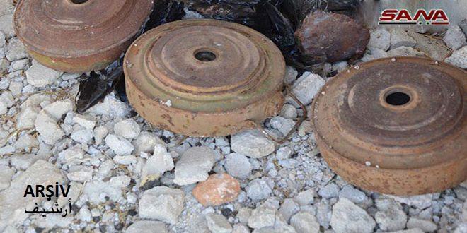 Hama Kırsalında Mayın Patladı Bir Sivil Yaralandı