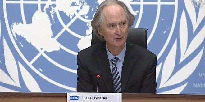 Pedersen: Küçültülmüş Komitenin Anayasayı Tartışmak İçin 4. Turu Yarın Cenevre'de Başlıyor