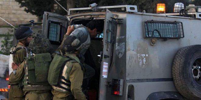 İşgalci İsrail Güçleri, Batı Yaka'da 6 Filistinliyi Tutukladı