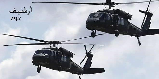 Amerikan Helikopterlerin Desteğiyle.. DSG Milisleri Yine Kaçırma Eylemleri Gerçekleştirdi