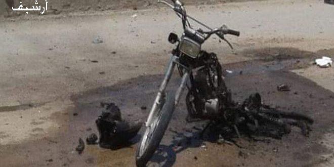 Halep kırsalında Bir Motosiklet Patladı, 10 Sivil Yaralandı