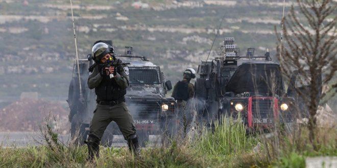 Batı Yakada Birkaç Filistinli Genç Yaralı Düştü