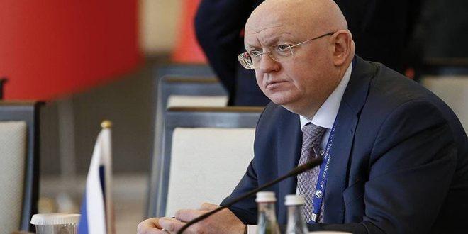 Nebenzia: Rusya, Suriye'deki kimyasal dosyanın Güvenlik Konseyi'nde kapalı tartışmalara karşı çıkacak