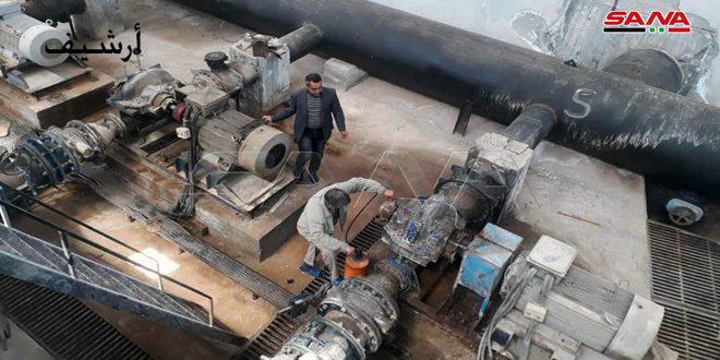 İşgalci Türkiye Tarafından Bir Hafta Süreyle Kesilmesi Ardından Alluk Su İstasyonu Yeniden Çalıştırıldı