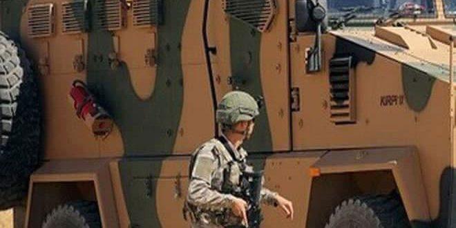 Halep Kırsalında Türk İşgalinden Bir Asker Yaralandı