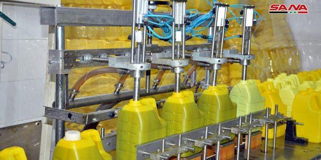 Homs Şeker Şirketi'nin Yağ Ve Alkol Fabrikalarının Yeniden Başlatması