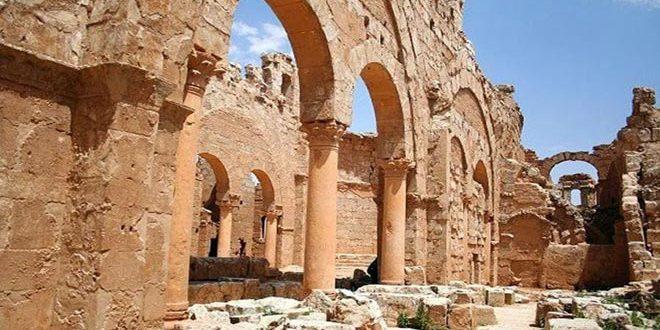 Asis Dağı Sahra'da Emeviler'in En Eski Sarayına Ev Sahipliği Yapan Suriyeli Tarihi Eser Mevkii