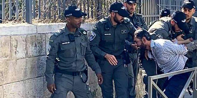 İsrail İşgal Güçleri, Batı Yaka'da 5 Filistinliyi Tutukladı