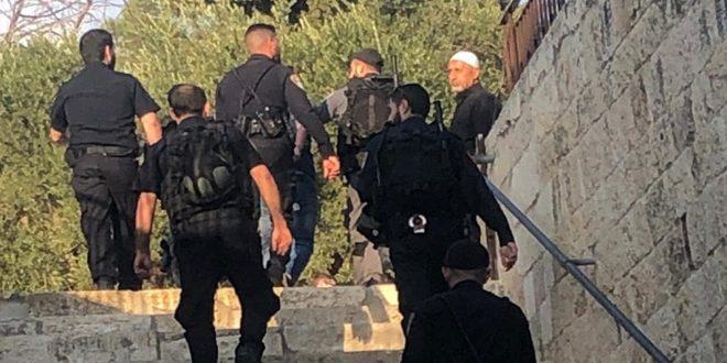 İsrail İşgal Güçleri, İşgal Altındaki Kudüs'te Bir Filistinliyi Tutukladı