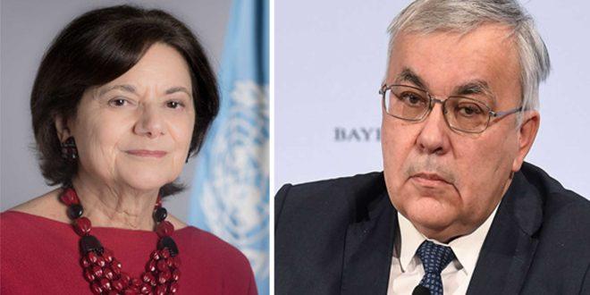 Vershinin ve BM Yetkilisi Suriye'deki Durumu Görüştü