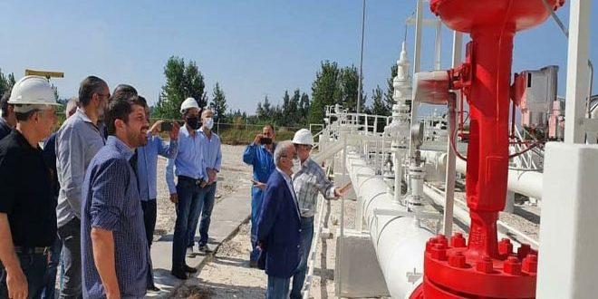 Suriye-Lübnan Ortak Ekibi, Lübnan Tarafında Arap Gaz Boru Hattı Üzerinde Çalışmalarına Başladı