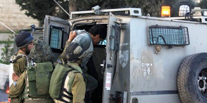 İsrail İşgal Güçleri, Nablus Kentinde 2 Filistinliyi Tutukladı