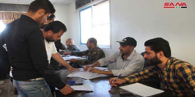 Dera Kırsalında Yeni Köylerde Silahlı Ve Aranan Kişilerin Durumları Düzeltiliyor