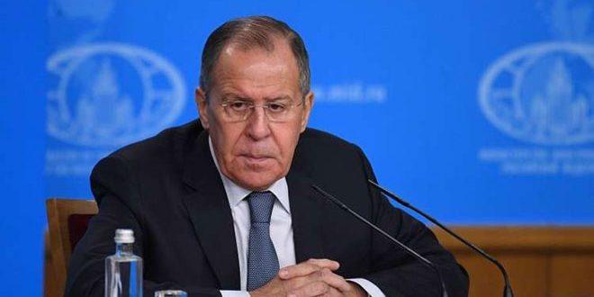 لافروف: مستمرون بمكافحة الإرهاب في سورية بالتوازي مع التحضير لمؤتمر سوتشي