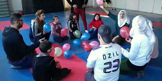 (بذرة أمل سورية).. مشروع رياضي يستقطب الأطفال من ذوي الاحتياجات الخاصة