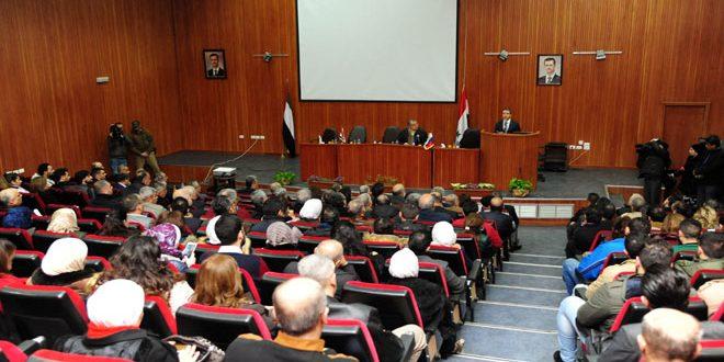وزير الاتصالات والإعلام الروسي: تطوير البحوث بين الجامعات الروسية والسورية في مجال التقانة والاتصالات