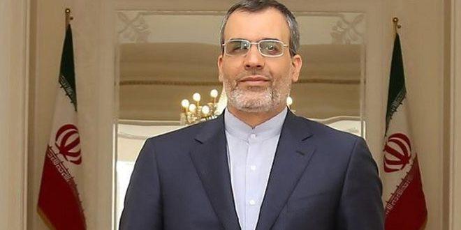 جابري أنصاري: نأمل أن يسهم مؤتمر سوتشي بتسوية الأزمة في سورية