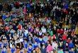 مهرجان كرنفالي لصغار كرة السلة بدمشق