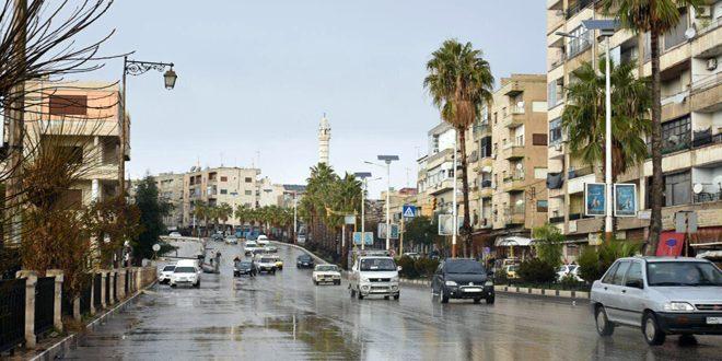 أمطار في عدد من المحافظات أغزرها 66 مم في اللاذقية