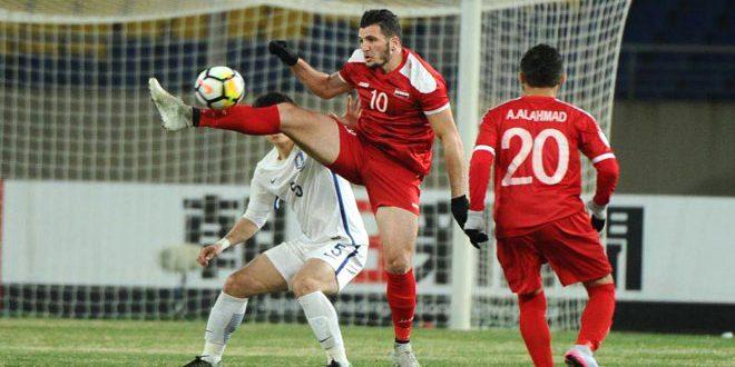 منتخب سورية الأولمبي يتعادل مع نظيره الفيتنامي ويخرج من نهائيات آسيا