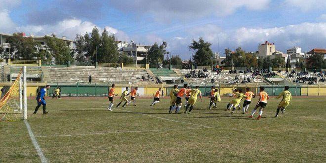 فوز جرمانا على العربي في دوري الدرجة الأولى بكرة القدم