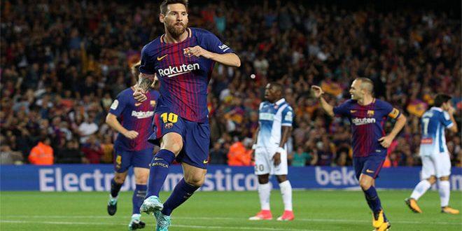 برشلونة يتلقى الهزيمة الأولى هذا الموسم