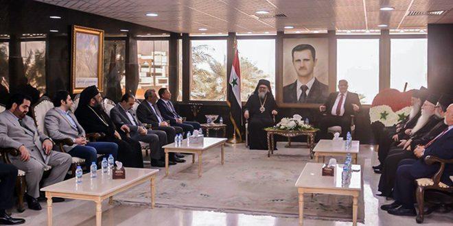 البطريرك يازجي: الشعب السوري قادر على تخطي المحن