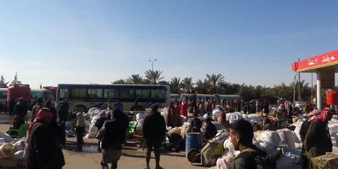 عودة 3 آلاف من المهجرين إلى قراهم بريف دير الزور الشرقي- فيديو