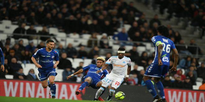مرسيليا يتقدم إلى المركز الثاني في الدوري الفرنسي لكرة القدم