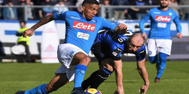 نابولي يفوز على اتلانتا في الدوري الإيطالي لكرة القدم