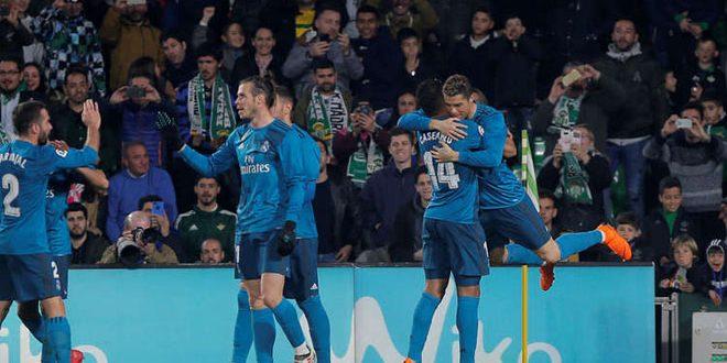 ريال مدريد يهزم ريال بيتس 5-3 ويحل في المركز الرابع