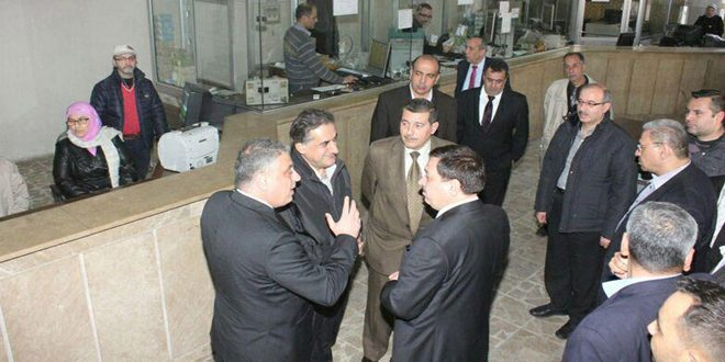 وزير المالية: إعادة تأهيل فروع المصرف التجاري في حلب المتضررة بفعل الإرهاب