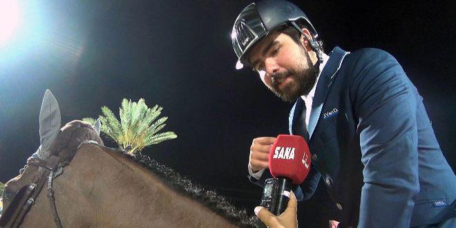 أحمد حمشو ينضم إلى ثلاثة فرسان من سورية في بطولة العالم لقفز الحواجز