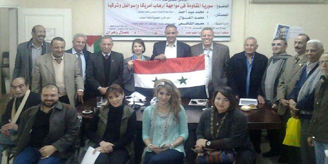 شخصيات مصرية: صمود سورية أفشل المؤامرة التي تتعرض لها