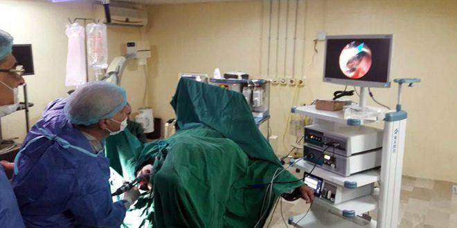 جهاز رنين مغناطيسي ومجهر للجراحة العصبية في مشفى مصياف قريبا