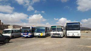 لليوم الثاني على التوالي… الإرهابيون يستهدفون بالقذائف الممر الآمن لخروج المدنيين من الغوطة لمنعهم من الخروج