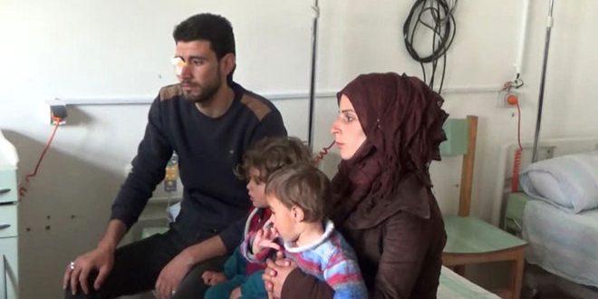 5 حالات مرضية من الفوعة وكفريا تتلقى العلاج في مشفى تشرين الجامعي باللاذقية- فيديو