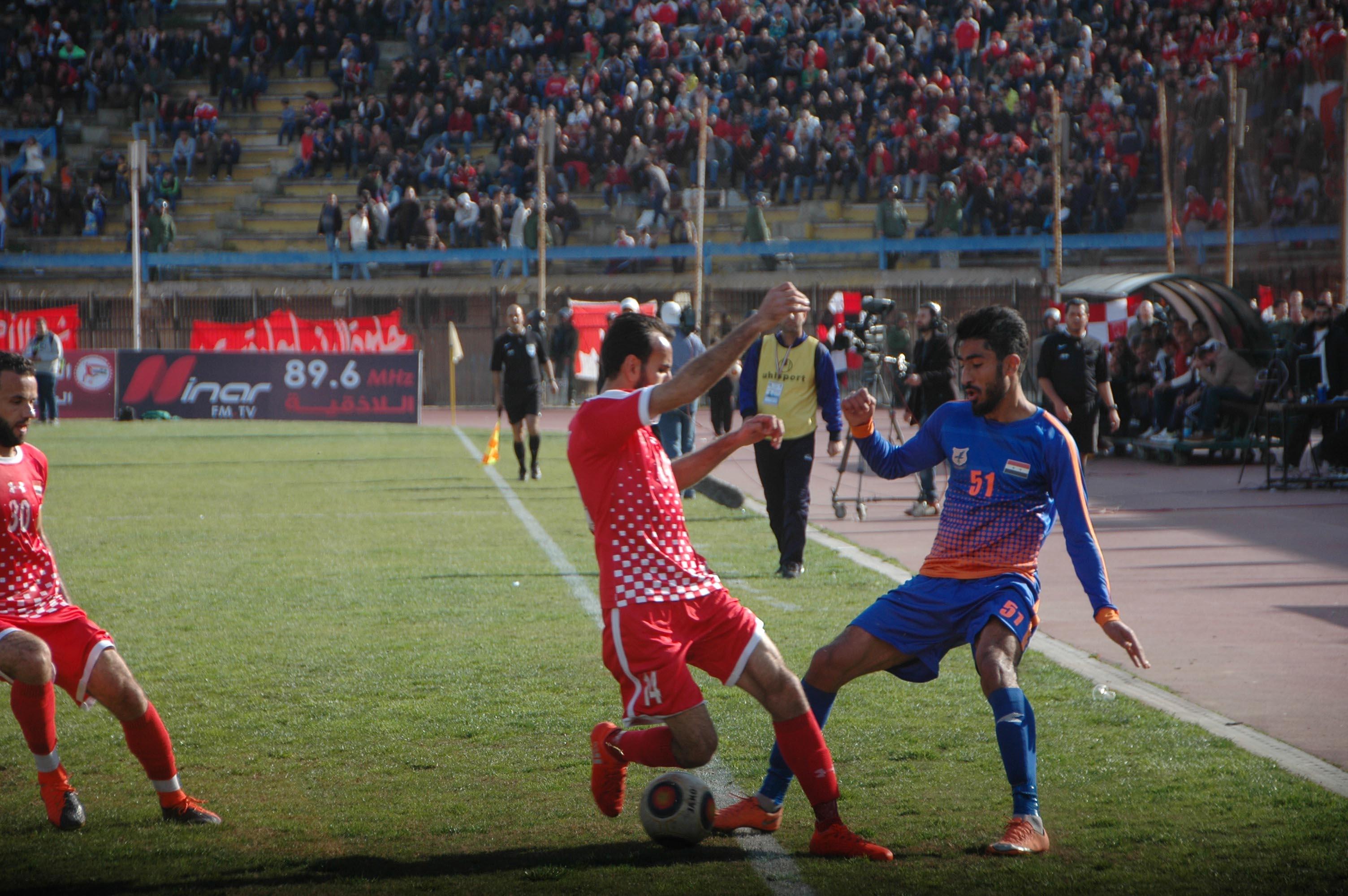 في الدوري الممتاز: الوثبة يحسم (ديربي) حمص وتشرين يؤكد صحوته بفوز ثمين على المحافظة