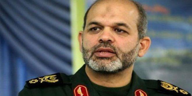 وحيدي: إيران ترفض أي تحرك يستهدف سورية والعراق