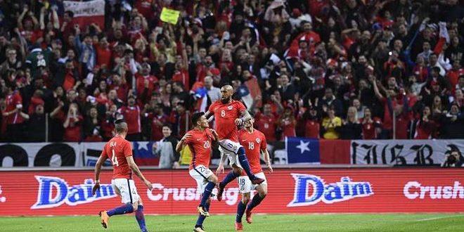 تشيلي تهزم السويد في مباراة ودية