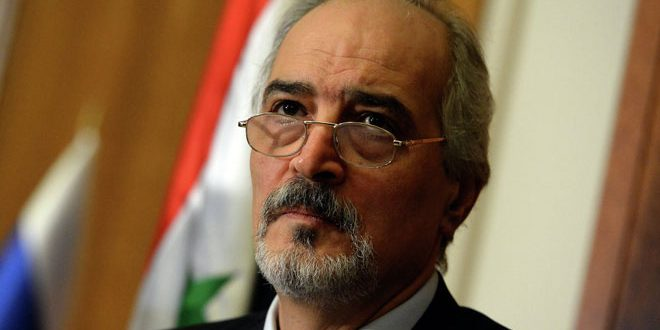 الجعفري: سورية لن تتراجع عن موقفها الثابت حيال القضية الفلسطينية