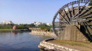 إطلاق المياه في مجرى نهر العاصي ينقذ محاصيل القمح والشعير