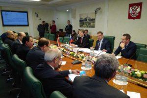 كوساتشيف يرحب بمشاركة وفد مجلس الشعب بمواكبة الانتخابات الروسية
