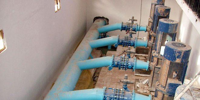 النظام التركي يستهدف محطة مياه بريف الحسكة ما أدى لانقطاع الكهرباء عن المحطة وقطع المياه عن المدينة