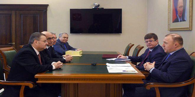 كومبيلوف يبحث مع قباقيبي التعاون في مجالي التعليم والتربية